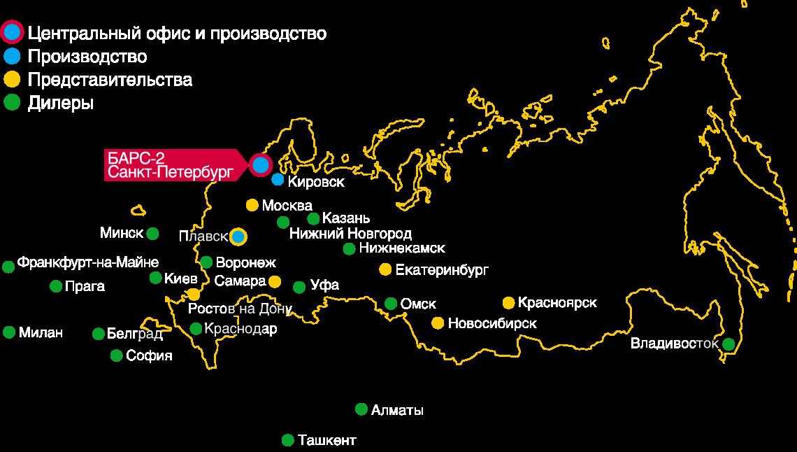 БАСКО Карта Барс-2